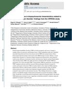 biopsicocial e DTM OPPERA