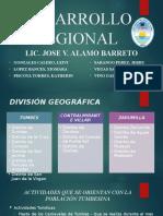 DESARROLLO REGIONAL - TUMBES ACTUALIZADA