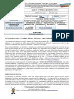 GUIA 3 CIENCIAS SOCIALES GRADO 5° POLICARPA TRES ESQUINAS