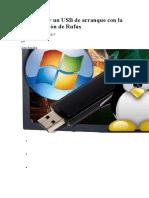 Cómo crear un USB de arranque con la nueva versión de Rufus