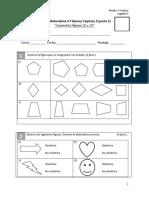 Prueba 4º Básico CAP 3 Geometria figuras 2D y 3D (parte 2)