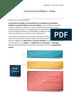 CLASE 02 - Estructura socioeconómica de México