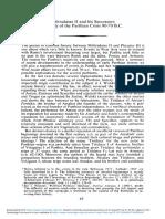 Mithradates II and his SuccessorsA Study of the Parthian Crisis 90-70 B.C.