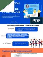 Clase 3. ESTILOS DE APRENDIZAJE - MOTIVACIÓN