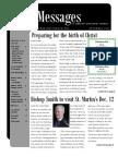 December St. Martin's Episcopal Church Newsletter