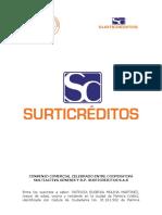 Convenio Comercial Celebrado Entre Coogenesis y Surticreditos