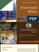 Especialidad Arqueología Bíblica