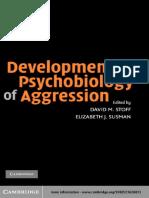 Stoff, Susman - Developmental-psychobiology-of-aggression