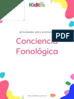 Copia de Kiditos - Actividades Conciencia Fonologica