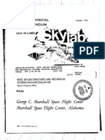 MSFC Skylab Structures and Mechanical Systems Mission Evaluation