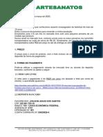 CARTA DE APRESENTAÇÃO - ASSENTO MASSAGEADOR DE BOLINHAS