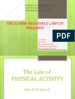 22 Non-Negotiable Laws of Wellness Discussion
