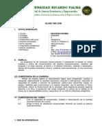 SILABO Macroeconomía - 2008-ANG Rafael Bustamante