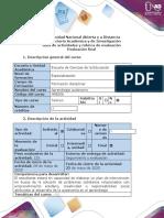 Guía de actividades y rúbrica de evaluación - Evaluación final (1)