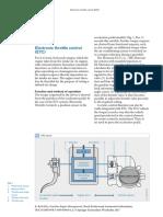 Electronic Throttle Control Bosch