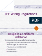 IEE Wiring Regulation