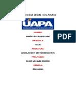 tarea 6 de Legislacion y Gestion Educativa de Maria Cristina.docx