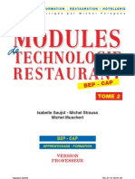 C7054 Modules Techno Restaurant 2 Professeur