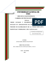 """""""REDES SOCIALES Y DESARROLLO DE HABILIDADES INTERNACIONAL"""