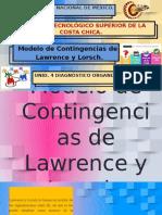 Modelo de Contingencias de Lawrence y Lorsch..pptx