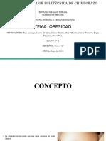 Obesidad revisión bibliografica
