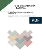 Organizacion laboral Empresa