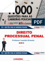 DPP-1000 QUESTÕES PARA AS CARREIRAS POLICIAIS- 2