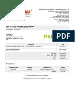 Invoice-HostingRaja-69906