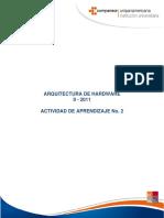 Actividad 2 - Arquitectura de Hardware