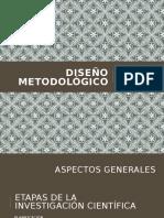 DISEÑO METODOLÓGICO FINAL