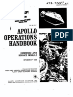 Apollo Operations Handbook CSM Spacecraft 012