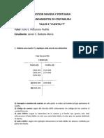 TALLER CUENTAS T WORD GESTION NAVIERA Y PORTUARIA