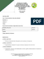 cienciAS NATURALES Y AMBIENTAL SEGUNDO PERIO 7°
