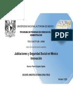 Jubilaciones y seguridad social en México