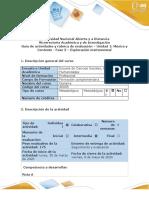Guía de actividades y rubrica de evaluación - Fase 3 - Exploración instrumental (Reparado)
