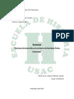 Resumen Patrones de desarrollo en la cerámica de Naachtún