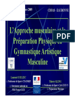 L Approche musculaire et la Pé Préparation Physique en