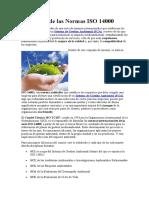 5 Definición de las Normas ISO 14000
