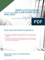 Presentacion Actualizacion tecnica Post test