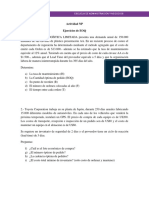 6-Guía de Ejercicios EOQ