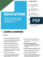 1-Education topic IELTS speaking