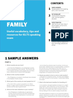 4-Family topic IELTS speaking