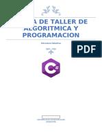 Tarea de taller de algoritmica y programacion
