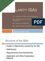ISAs Clarity