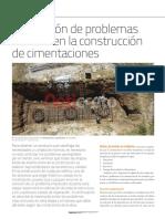 6. Prevencion de Problemas Construcción de Cimentaciones