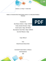 Unidades 1, 2 y 3 Etapa 7 - Prueba Final