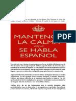 El Español tiene la Palabr1