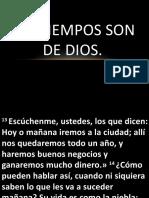 Los tiempos son de Dios.pptx