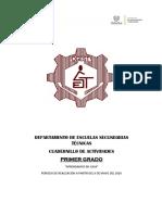 cuadernillo primer grado escuelas secundarias tecnicas