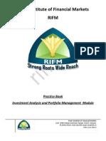 Investment Analysis and Portfolio Management Practice Book Sample
